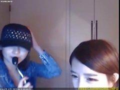 Hot Horny Beautiful Teen Asian Korean Girls on Webcamshow