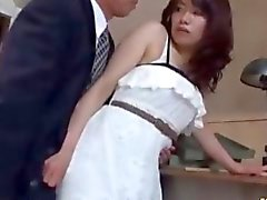 Japanese teen wants to gag on it