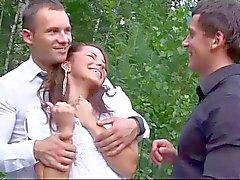 DP GroupSex with Bride Zo Ya