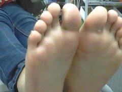 Latina teen feet