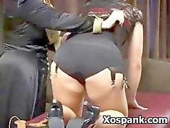 Kinky Girl In Seductive Spanking scene