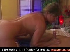 Almost cum in my mom!!