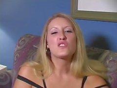 Blond Jerk Off Instruction