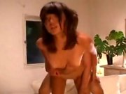Asian Amateur in Stockings Loves Anal