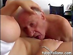 He is old but his dick is hard