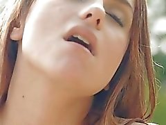 Hunk devours babes cunt with his lips and schlong
