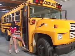 School Bus Teen Anal