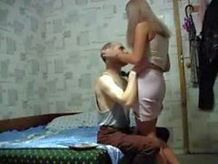 Cute russian teen gets fucked by an oldman 2
