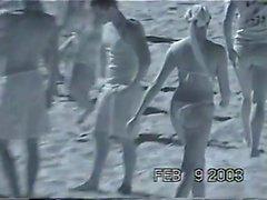 Amateur teen beach Banging