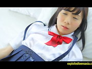 Cute Machida Misana Jav Debut Teen Teases Taking Off Panties