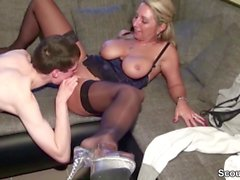 Small Young Boy Lost Virgin by German Big Tit MILF