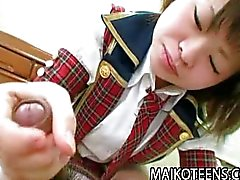 Japanese schoolgirl getting fucked