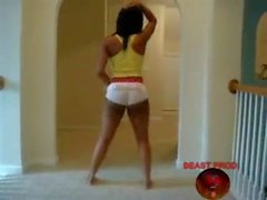 Black girls twerking