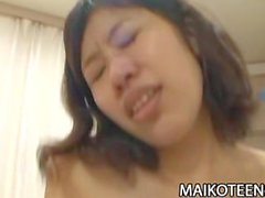 Chie Ishida - Exotic Nippon Teen Riding On A Japanese Cock