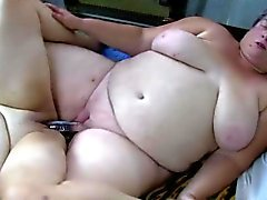 OldNammy chubby mom teaches chubby girl masturbating