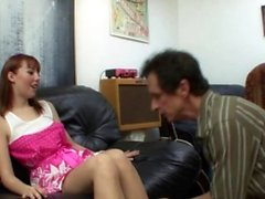 DirtyStepDaughter Gives Tutor A Lesson In Handling A Cock
