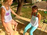 fluent teens flashing the village