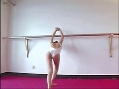 Beautiful Japanese Girl Is Showing Her Flexible Body