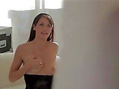 supermodel babe in black pants video 2