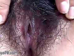 Asian sluts pussy closeup