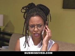 Submissived - Gorgeous Ebony Teen Gets Tied Up And Fucked
