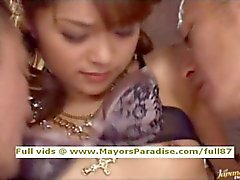 Mihiro innocent Chinese girl gets pussy fucked hard
