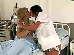 Cute nurse loves granny