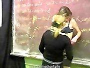 Student's lesby orgy / Лесбияночки в классе