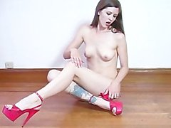 Minx Addiction is Sexy lin Red Lingerie