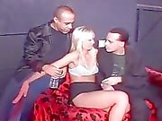 No hold barred orgy sex party with nasty college babes