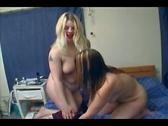 2 Horny Fat Chubby Lesbians having some nasty fun-1