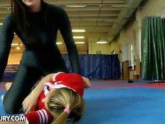 Nude Fight Club presents Mira vs Celine Doll
