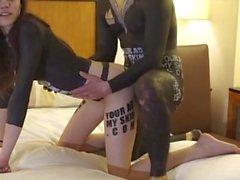 The perfect woman shakes her ass, and accepts a cock deep inside her.