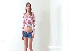 Serena&#039_s Calendar Audition - Netvideogirls