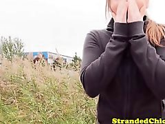Petite russian hitchhiking teens pov carsex