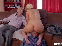Presley Carter Fucks With Old Man For Concert Ticket