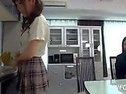 Asian Schoolgirl Makes Teacher Lesbian Pet Part 27