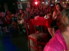 Horny Women Sucking Stripper Dicks at Stripclub