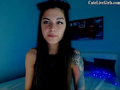 Jasmin Beautiful Camgirl Rubbing Part 1