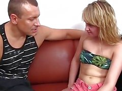 Slutty Teen Gets Picked Up And Fucked!