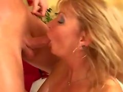 Hot milf and her younger lover 768