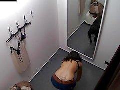 Voyeur Spycam Gorgeous Teen Brunette