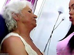 She loves her granny so much....