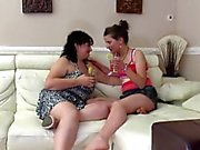 Old Fat Lesbian & Her Thin Girlfriend