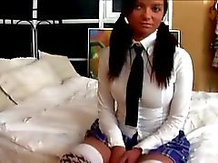 SCHOOLGIRL STRIPPED, FINGERED AND FUCKED...usb