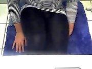 Fat Teen in Leggings