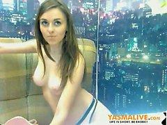 Brunette Perfect Boobs Webcam