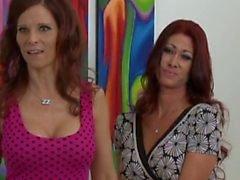 Tiffany vs. Syren-Horny Mamas Need Young Cum