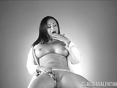 Claudia Valentine Black and White Solo