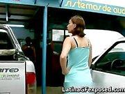 Latin gf night drive backseat sex part4